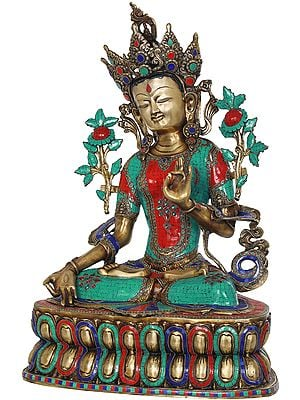 White Tara, The Supreme Female Deity In Tibetan Buddhism (Large Size)