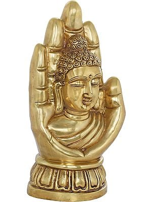 Buddha in Blessing Hand