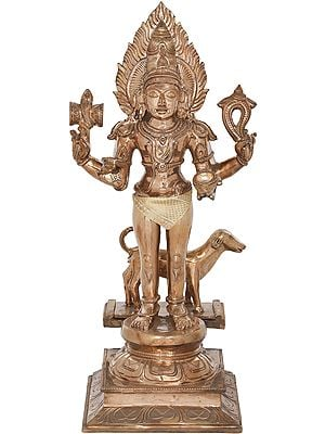 Shiva Manifested as Bhairava