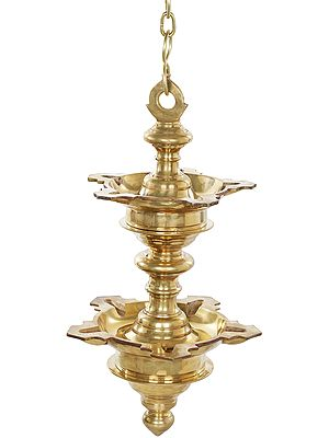 Heavy Roof Hanging Lamp From South India