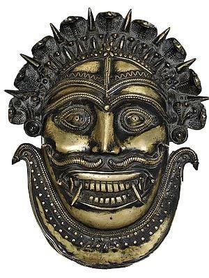 Serpent-Crowned Shaktisamagama Mahakala