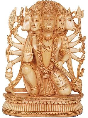 Five Headed Hanuman as Eleventh Rudra