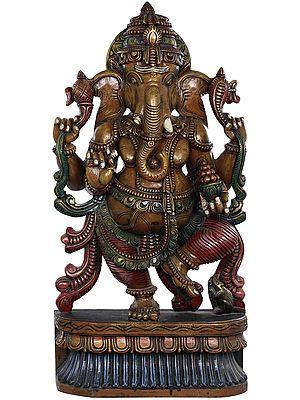 Ananda Nritya of Ganesha - Large Size