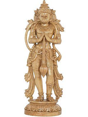Hanuman in Namaskar Mudra