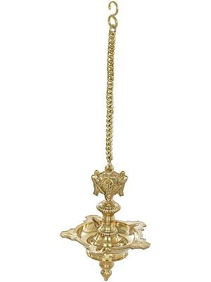 Roof Hanging Vaishnava Lamp