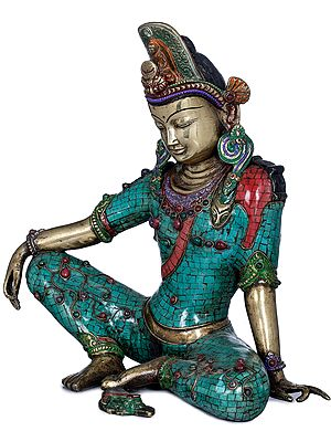 Seated Avalokiteshvara - Tibetan Buddhist Deity