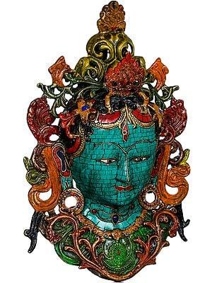 Tibetan Buddhist Goddess Tara Mask