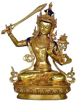 Manjushri -Tibetan Buddhist (Made in Nepal)