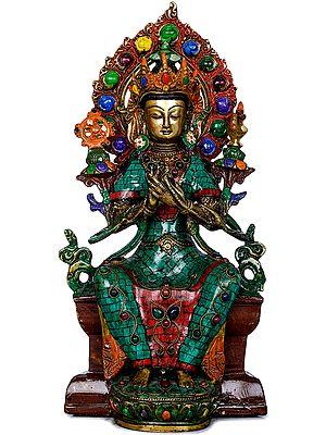Future Buddha Maitreya - Tibetan Buddhist