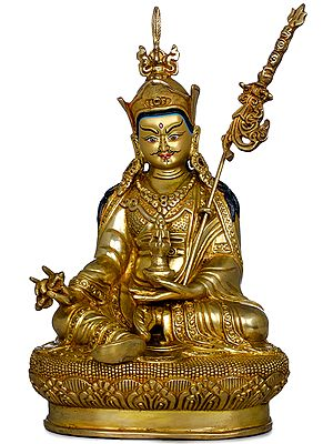 Superfine Tibetan Buddhist Guru Padmasambhava (Made in Nepal)