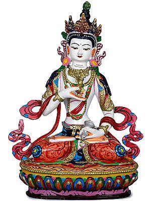 Tibetan Buddhist Deity The Primordial Buddha Vajrasattva - Made in Nepal
