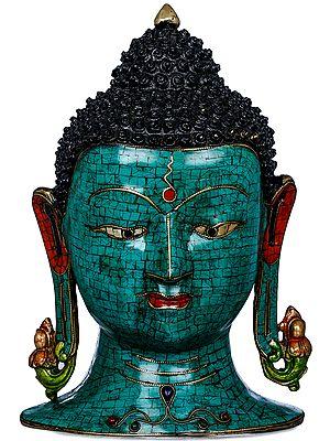 Tibetan Buddhist Lord Buddha Wall Hanging Mask