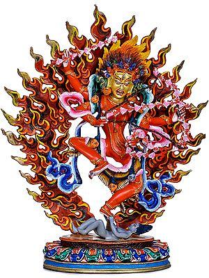 Made in Nepal -Goddess Kurukulla (Red Tara) Tibetan Buddhist