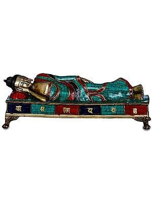 Mahaparinirvana Buddha -Tibetan Buddhist