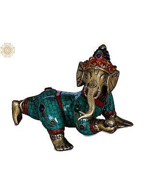 Crawling Baby Ganesha