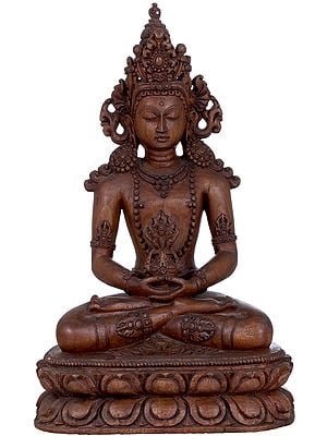 Tibetan Buddhist Deity Amitabha, The Buddha of Infinite Life - Made in Nepal