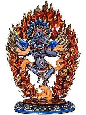 Tibetan Buddhist Dancing Garuda - Made in Nepal