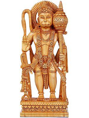 Hanuman Granting Abhaya