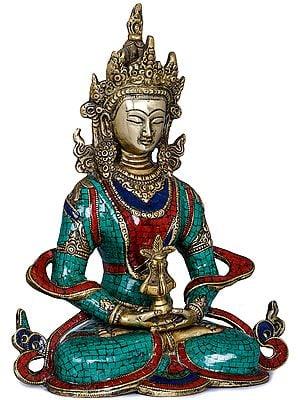 Amitabha, The Buddha of Infinite Life (Tibetan Buddhist Deity)