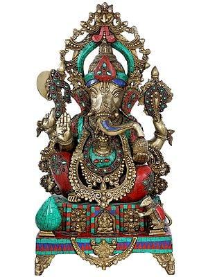 Ashirwad Granting Lord Ganesha