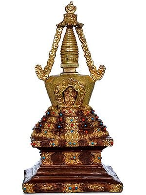 Tibetan Buddhist Stupa - Chorten (Made in Nepal)