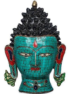 Tibetan Buddhist Deity Buddha Wall Hanging Mask