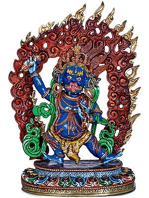 Krodha Vajrapani - Tibetan Buddhist Diety