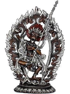 Tibetan Buddhist Wisdom Yogini - Simhamukha Dakini (Made in Nepal)