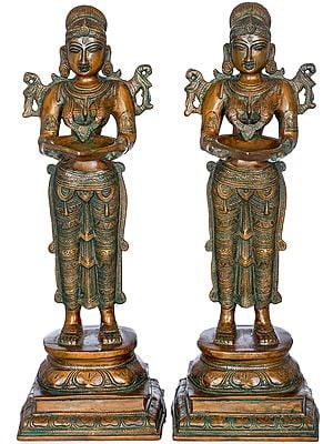 Pair of Deepalakshmi
