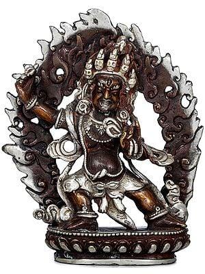 Tibetan Buddhist Deity Vajrapani - Made in Nepal