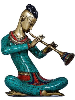 Musician Playing Shehnai