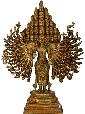 Superfine Sadashiva Cosmic Form of Bhagawan Shiva