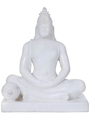 Contemplative Lord Hanuman