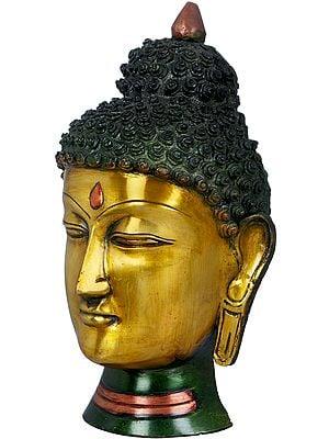 Lord Buddha Wall Hanging Mask - Tibetan Buddhist