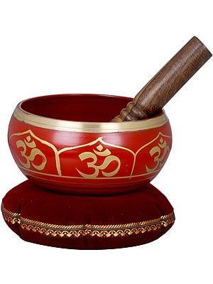 Tibetan Buddhist OM Singing Bowl