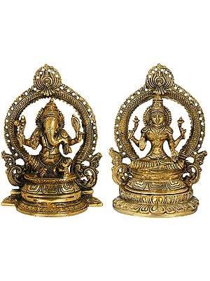 Ganesha Lakshmi  - The God and Goddess of Fortune