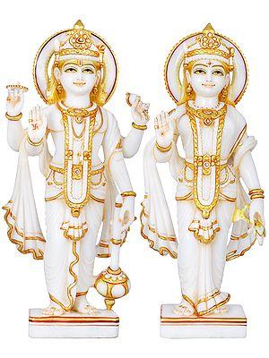 The Harmony Of Vishnu-Lakshmi