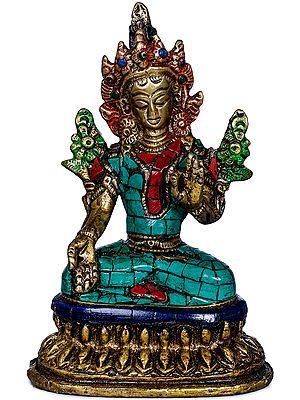Small White Tara - Tibetan Buddhist Goddess