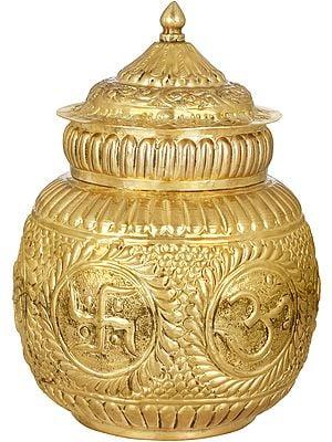 OM Puja Kalasha