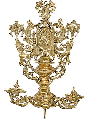 Lord Balaji Superfine Wall Hanging Lamp