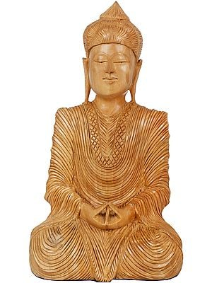 Seated Japanese Buddha