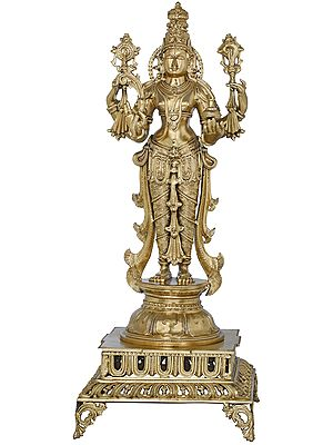 Superfine Four Armed Dhanvantari