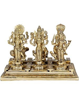 Navagraha Deities With Their Respective Vahanas