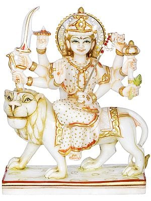 Eight Armed Simhavahini Durga