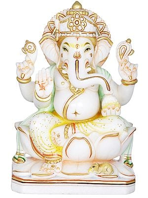 Bhagawan Ganesha Blessing His Devotees