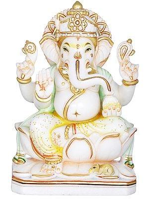 Bhagawan Ganesha Blessing His Devotees