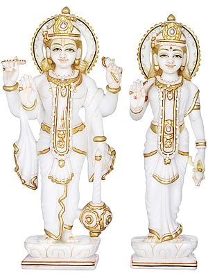 Vishnu-Lakshmi In The Glory Of Their Togetherness