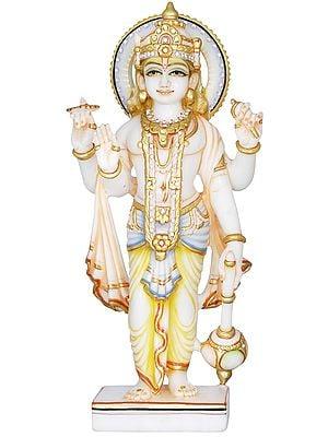 Haloed Lord Vishnu