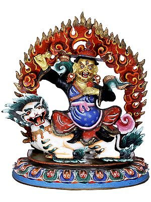 Dharmapala Of The Dorje Lhakpa