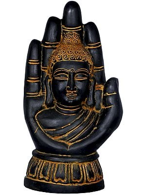 Large Size Buddha in Hand - Tibetan Buddhist